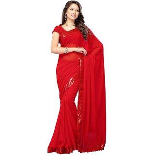 Kareena Red Saree
