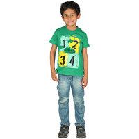 Perky Sketchy Green Tshirt