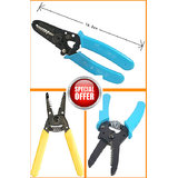 AWG  Wire Stripper Cutter Pliers With Spring Handle