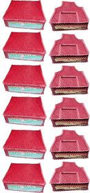 Combo Deal-Multipurpose 6Pcs Saree Cover And 6Pcs Blous