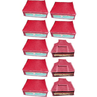 Combo deal-Multipurpose 7Pcs Saree Cover And 3Pcs Blouse Cover
