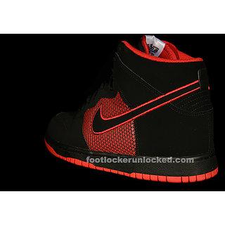 "Nike Dunk High ""Superhero"" – Black – Red"