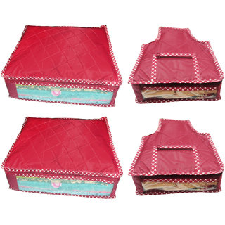 Combo deal-Multipurpose 2Pcs Saree And 2Pcs Blouse Cover