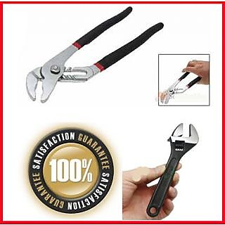 10Inch Adjustable Spanner Wrench Cobra Water Pump Pliers Hand Tool Origina