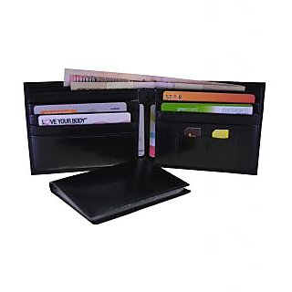 arpera-Black-Leather-Mens Wallet-with removable card holder-C11427-1