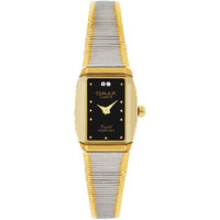 Omax Two Tone Watch For Women (LS171)