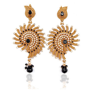 Sunehri Beautiful Sun Earrings