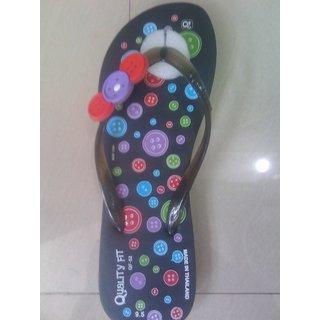Women's Multicolor Flip Flops