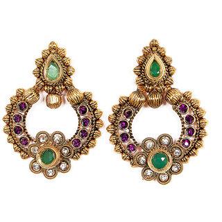 Sunehri Ethnic Earrings