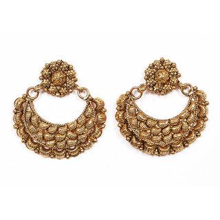 Sunehri Antique Earrings