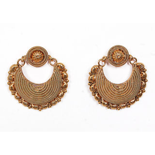 Sunehri Golden Earrings