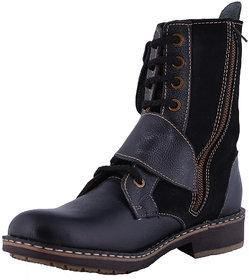 Men's Faux mild  leather Black Boots