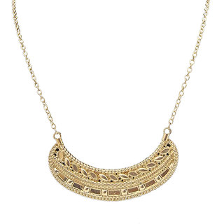 Urthn Pretty Necklace in Golden - 1102607