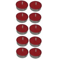 Scented Red Tealight T-Lite Candles Smokeless Candle For Diwali Birthday Party Gift Christmas Candle Lighting Lamp Pack Of 40