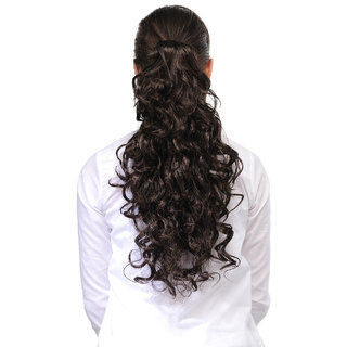 Homeoculture Natural Brown 18 inches Designer Hair Extension  00494