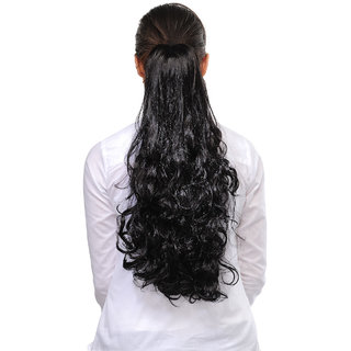 Homeoculture Natural Brown Hair Extension, 18 Inches   10414