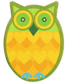 Green OWL nail filer emery boards nail and personal care