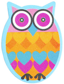 Blue OWL nail filer emery boards nail and personal care