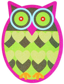 Pink OWL nail filer emery boards nail and personal care