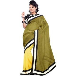 Swank Deepika Padukone Bollywood Saree, Designer Saree, Facny Saree