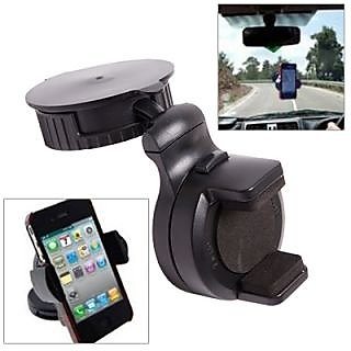Fly Compact Mobile Car Holder Black color