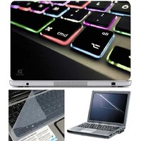 Finearts Laptop Skin Keyboard Color Led With Screen Gua