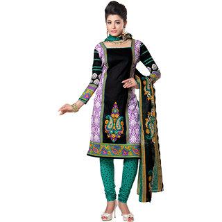 c2306be525 Khantil Online Shopping For Cotton Black Dress Material