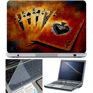 Finearts Laptop Skin 15.6 Inch With Key Guard & Screen Protector - Qkkja