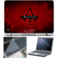 Finearts Laptop Skin Assassins Creed Iv Black Flag With