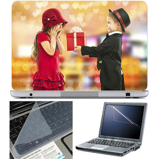 Finearts Laptop Skin 15.6 Inch With Key Guard & Screen Protector - Boy Girl Gift