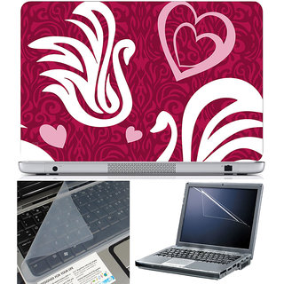 Finearts Laptop Skin 15.6 Inch With Key Guard & Screen Protector - Abstract Series 1021