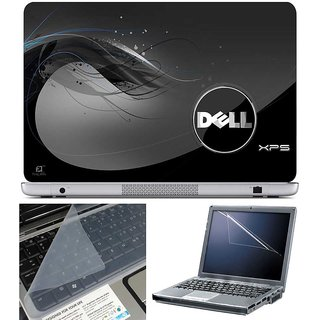 Finearts Laptop Skin Dell Xps With Screen Guard And Key Protector - Size 15.6 Inch