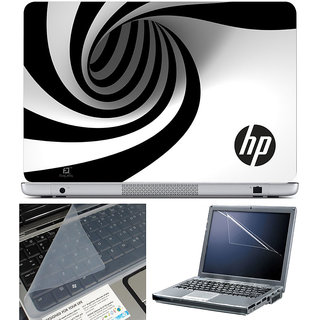 Finearts Laptop Skin 15.6 Inch With Key Guard & Screen Protector - Hp Spiral