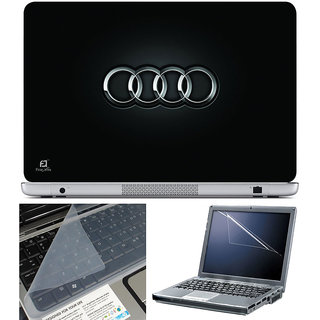 Finearts Laptop Skin 15.6 Inch With Key Guard & Screen Protector - Audi