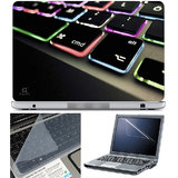 Finearts Laptop Skin 15.6 Inch With Key Guard Screen Protector   Keyboard Color Led