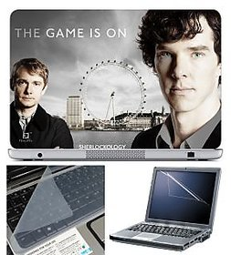 Finearts Laptop Skin 15.6 Inch With Key Guard & Screen Protector - The Game Is On
