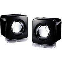 Quantum QHM611 Wired Laptop Speakers(Black, 2.0 Channel