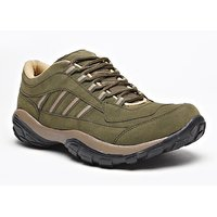 Foot N Style Men's Green Lace-Up Outdoors
