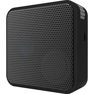 Portronics Cube shape BT Portable Bluetooth Speaker - Black