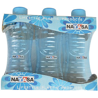 Nayasa Round Water Bottle - Set Of 6