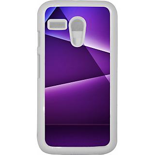 Ff (Star Wars) White Plastic Plain Lite Back Cover Case For Motorola G
