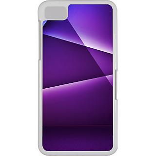 Ff (Star Wars) White Plastic Plain Lite Back Cover Case For Blackberry Z10