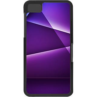 Ff (Star Wars) Black Plastic Plain Lite Back Cover Case For Blackberry Z10