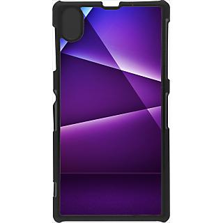 Ff (Star Wars) Black Plastic Plain Lite Back Cover Case For Sony Xperia Z1