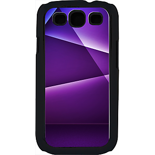 Ff (Star Wars) Black Plastic Plain Lite Back Cover Case For Samsung Galaxy S3