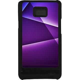 Ff (Star Wars) Black Plastic Plain Lite Back Cover Case For Samsung Galaxy S2