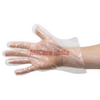 Plastic Gloves (Per Box 100 Pcs)