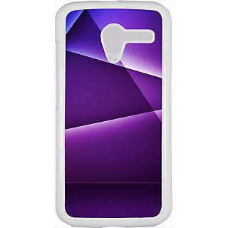 Ff (Star Wars) White Plastic Plain Lite Back Cover Case For Motorola X