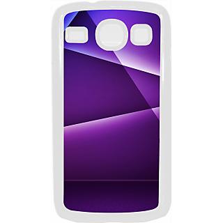Ff (Star Wars) White Plastic Plain Lite Back Cover Case For Samsung Galaxy Core