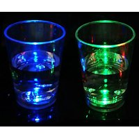Led Short Glass (Set Of 4pc) - For Party, Fun, 31st Night